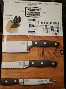 Chicago Cutlery 1117756 Insignia2 Knife Block With In-Block