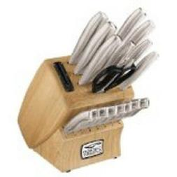 18-Piece Insignia Steel Kitchen Knife Cutlery Set W/In-Block