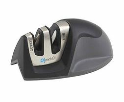 50009 edge 2 stage knife sharpener black
