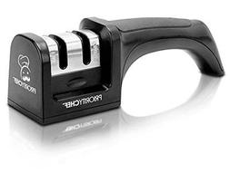 PriorityChef Knife Sharpener, 2 Stage Sharpening System for