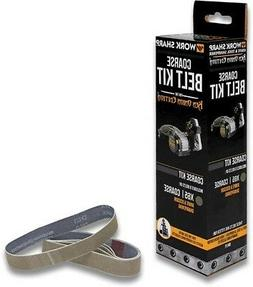 Work Sharp WSSAKO81118 Coarse Grit Belt Kit