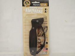 AccuSharp Knife Tool Blade Sharpener Black ACC008