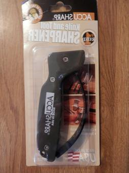 AccuSharp Knife Tool Blade Sharpener Black ACC008 Brand New