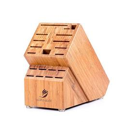 Bamboo Knife Block , Best For Storage Of Your Quality Cutler