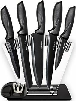 HomeHero Chef Knife Set Knives, Kitchen Knife Set with a Sta