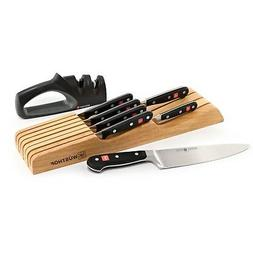 Wusthof Classic 8pc In-Drawer Knife Block / Tray Set with 2-