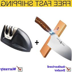 """Tuo Cutlery 7"""" Vegetable Meat Cleaver Knife with Pakkawood H"""
