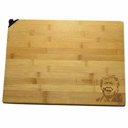 Donald Trump Chopping Block, Bamboo Cutting Board with Built