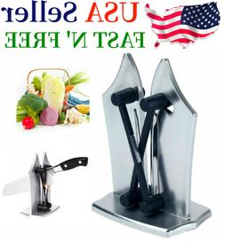 Kitchen Knife Sharpener Edge Sharpens Hones Standard Blade P