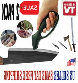 KNIFE SHARPENER Kitchen Hunting Fishing Swords Tools Tungste