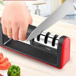 Knife Sharpener Professional CHEF Kitchen Ceramic Tungsten D