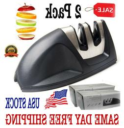 KNIFE SHARPENER PROFESSIONAL Gourmet Heavy Duty Ceramic Tung