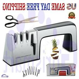 KNIFE Sharpener PROFESSIONAL System Scissors Tool Heavy Duty