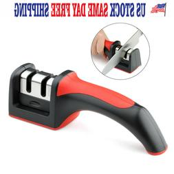 KNIFE SHARPENER PROFESSIONAL SYSTEM Kitchen Heavy Duty Tungs