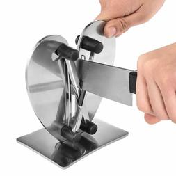 Knife Sharpener, Solid Stainless Steel and Austrian Tungsten