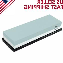 Knife Sharpening 1000/600 Grit Stone Kitchen Double Sided Po