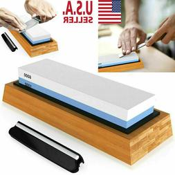 Knife Sharpening 1000/6000 Grit Stone Kitchen Whetstone Shar