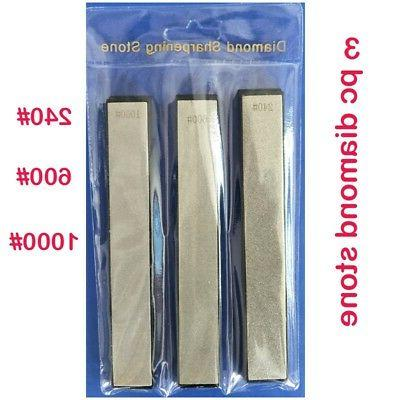 3PCS Knife Sharpener Stone Whetstone Set