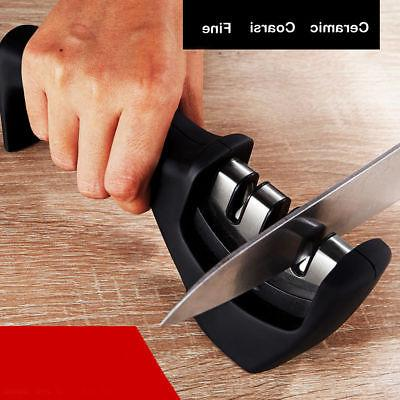 Alloy Easy 3-Stage Professional Chef's Kitchen Knife Sharpen