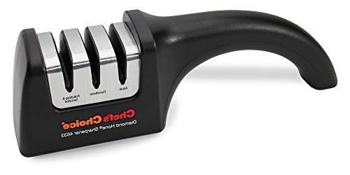 Hone Professional Sharpener for Serrated Knives Angle Control Black