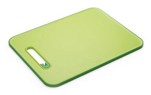 Joseph Joseph 60027 Slice & Sharpen Cutting Board with Integ