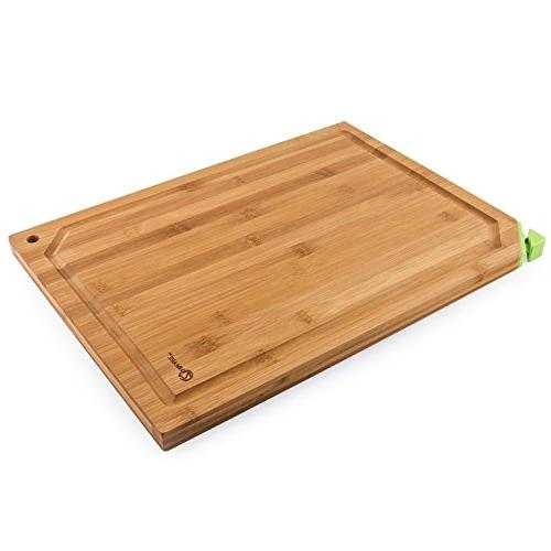 Zenware 3 Warp Resistant All Natural Bamboo Cutting Board - Your