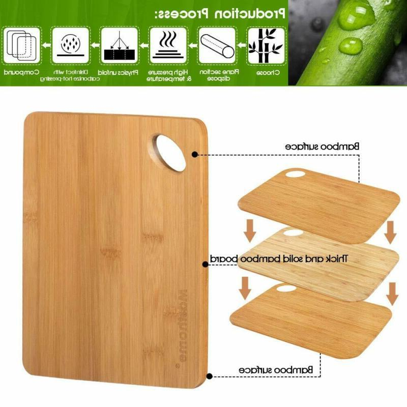 Bamboo Cutting Kitchen Food Fruit Wood Size
