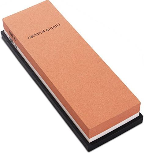 double sided knife sharpening stone
