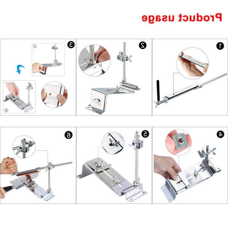 Knife Professional Kitchen Sharpening System Angle 4