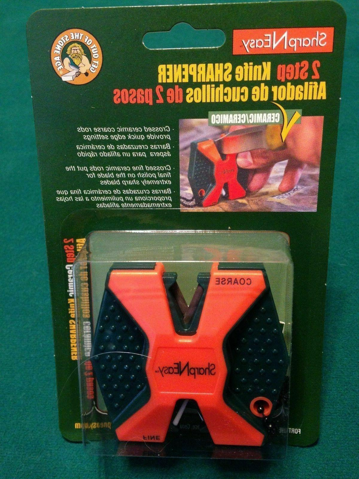 fortune products orange sharp n easy knife