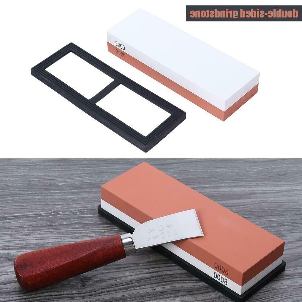 Knife Grit Sharpening Water Stone Dual  Whetstone Knife Shar