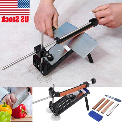 Pro Knife Sharpener Kitchen Sharpening System Fix-angle With