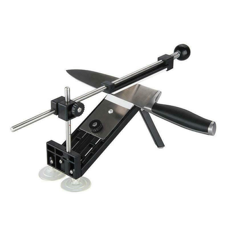 Knife Sharpening Tools Sword System Fix-angle+4 Stone III US