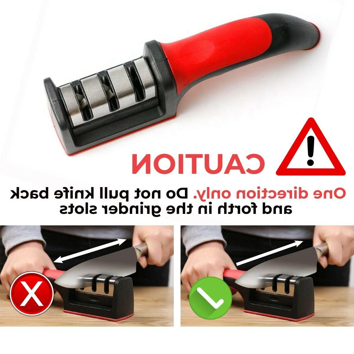 Knife Sharpener Tungsten Ceramic Tool