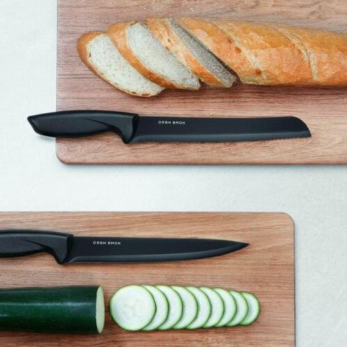 Stainless Steel with 13 Kitchen Knives Knife