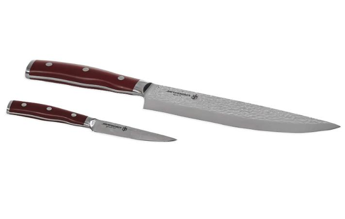stainless steel paring knife set history sharpened