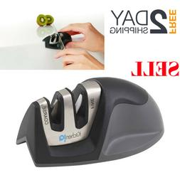 New Two Stage Knife Sharpener Professional Tool Cordless Edg