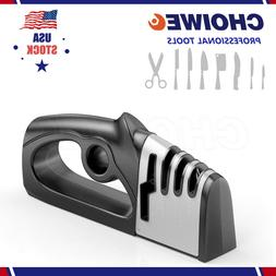 Premium Quality Knife Sharpener for Straight and Serrated Kn