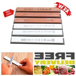 Professional Whetstone Knife Sharpening Water Stone 6 Piece