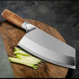 Stainless Steel Japanese Kitchen Knives Cleaver Chef Knife M