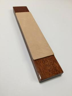 EXOTIC STROPS Stropping Board, Knife Sharpener in Bloodwood