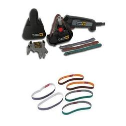 Work Sharp WSKTS Knife and Tool Sharpener and Replacement Be