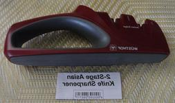 Wusthof Precision Edge Handheld 2 Stage Asian Knife Sharpene